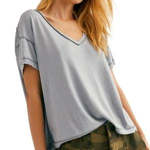 Free People We The Free All mine tee Grey